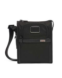 The TUMI Alpha 3 Black Small Pocket Bag