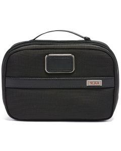 This is the TUMI Alpha 3 Black Split Wash Bag.