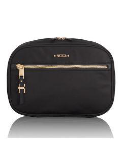 This is the TUMI Black Voyageur Yima Nylon Wash Bag.