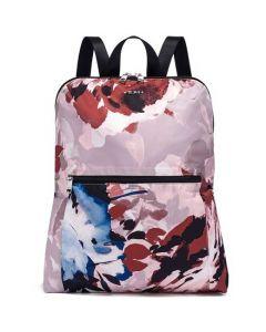 Voyageur Just In Case Blush Floral Travel Backpack