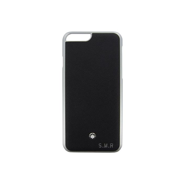Montblanc iPhone 6 case with leather embossing.