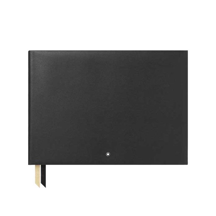 This is the Montblanc Fine Stationery Blank Black Guest Book #144.