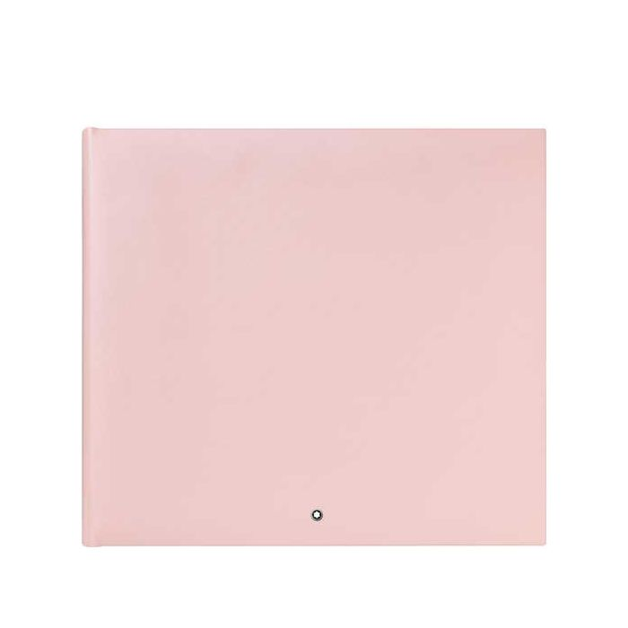 This is the Montblanc Fine Stationery Pink Photo Album #144.