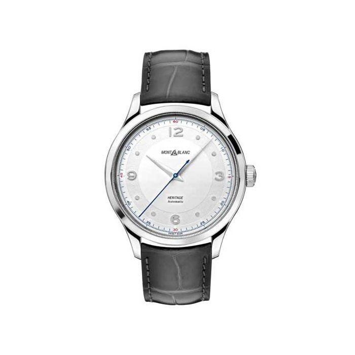 The Montblanc Heritage Grey Alligator Automatic Watch