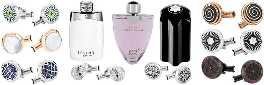 Montblanc Cufflinks and Fragrance