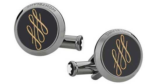 Montblanc Calligraphy Cufflinks