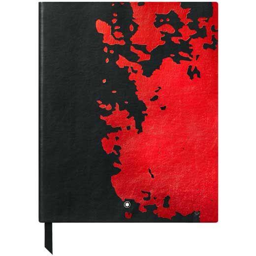 Montblanc Meisterstück Calligraphy #149 Black & Red Blank Sketchbook