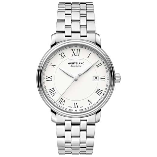 Tradition Date Automatic Stainless Steel Watch