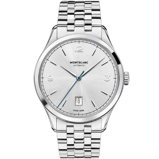 Heritage Chronométrie Silver Stainless Steel Watch